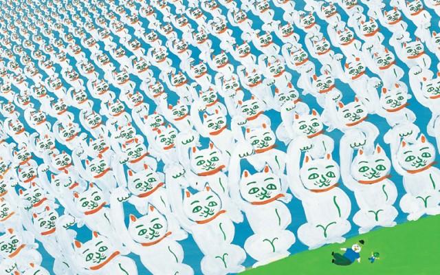 ナンセンスの神様!絵本作家・長新太の奇想天外な脳内をめぐる回顧展が開催。