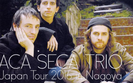 Aca-Seca-Trio-en-Nagoya-Afiche-Omote