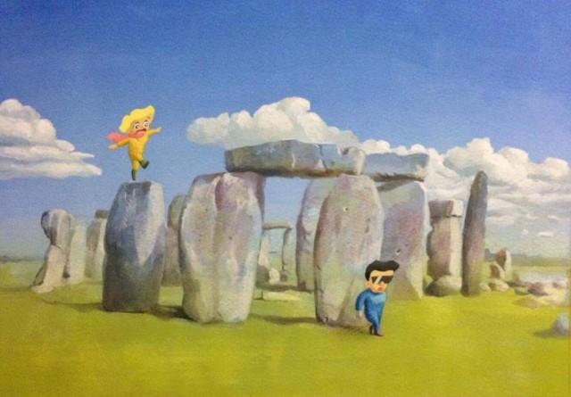 """シラオカ・小池喬による""""こいけぐらんじ""""名義でのイラスト個展が開催。イケダユウスケを共演に迎えたクロージングライブも。"""