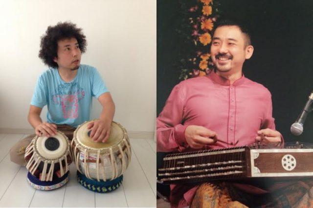 サントゥール奏者・新井孝弘、タブラ奏者・U-zhaanによる「北インド古典音楽ライブ」が今池TOKUZOにて開催!
