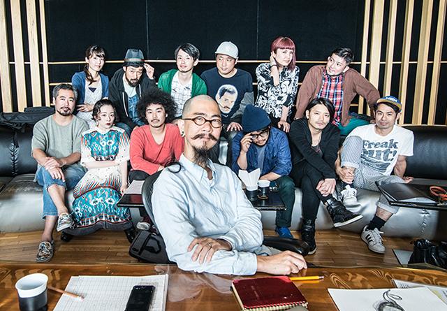 元ビークル・ケイタイモ率いる13人編成プログレ吹奏楽団・WUJA BIN BINが3rdアルバム発売記念東名阪ツアーで名古屋TOKUZOに登場!