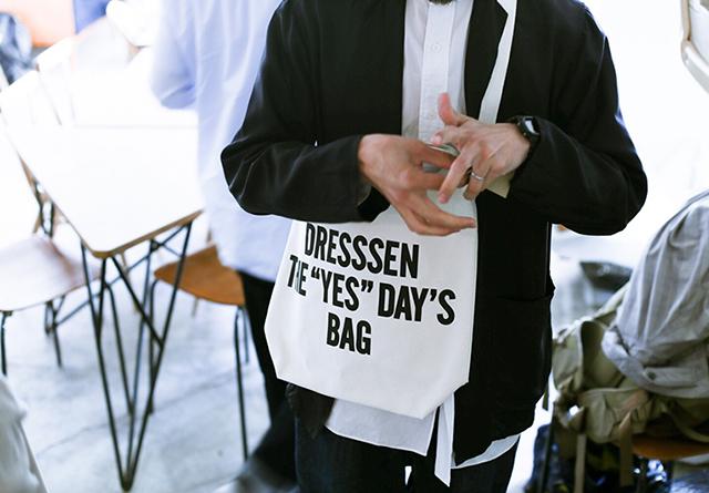 フードコーディネーターが手がける注目のエプロンブランド「DRESSSEN」の名古屋初となるPOP UPがMaison YWEにて開催中。