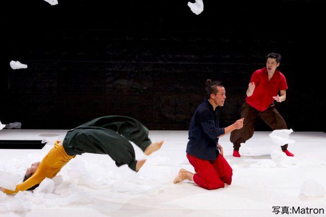 10周年を迎えたダンスカンパニー・C/Ompanyが、「身体で会話をする」をテーマとした新感覚の舞台「イキ、シ、タイ」を名古屋で再演。森山未來からの応援コメントも。
