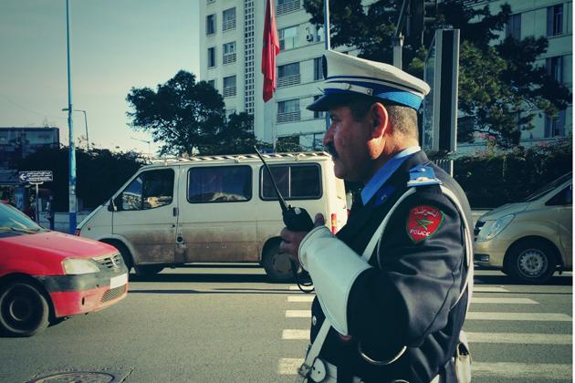 カサブランカの警察官