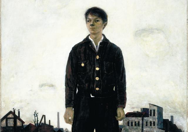 山口薫、香月泰男、松本竣介ら激動の時代を経験した画家たちの展覧会が開催。
