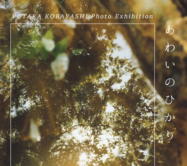 詩人であり、写真家の小林豊による個展が開催。