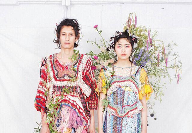 Charaの衣装も手がけるハンドニットブランドan/eddy(蓮沼千紘)による 「百花~終焉~ 」がAquviiNAGOYAで開催中。