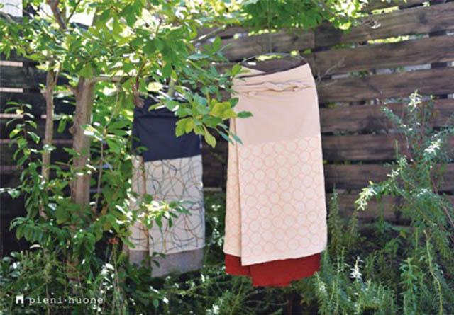 ずっと着ることのできる衣服を提案する安藤明子の「百草サロン展」が覚王山pieni・huoneにて開催。ミナペルホネン+百草オリジナルサロンも。