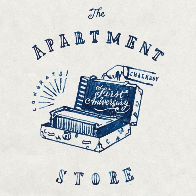 THE APARTMENT STOREが1周年記念イベント開催。話題のイラストレーター・CHALK BOYのライブペイント、EATBEAT!としても活躍中のhenlyworkによるライブも!