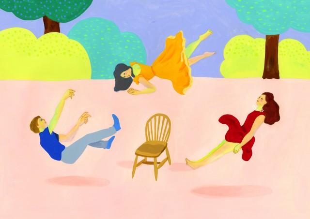 独特のタッチとシュールな世界観が魅力。イラストレーター・松尾麗子の個展「ていねいに生きる、日々」開催。