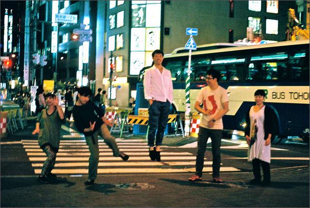 スッパバンドが大阪・名古屋をツアー。名古屋公演は、紙コップス、THE PYRAMIDが共演。