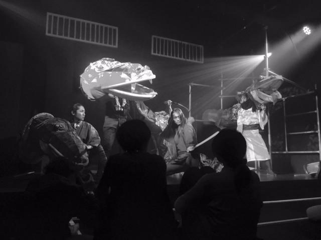円頓寺商店街の新名所「那古野 ハモニカ荘」2階に、名古屋山三郎一座による「カブキカフェ ナゴヤ座」がオープン!こけら落とし公演も。
