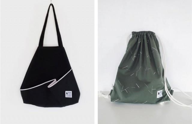 グラフィカルな配色がユニークなバッグやアクセサリを発表しているkickFLAGの新作展示会が開催!