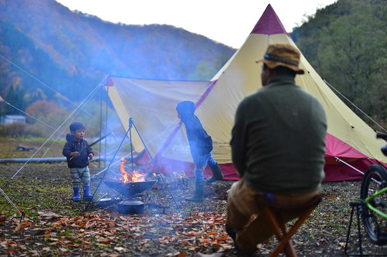 直火キャンプ2