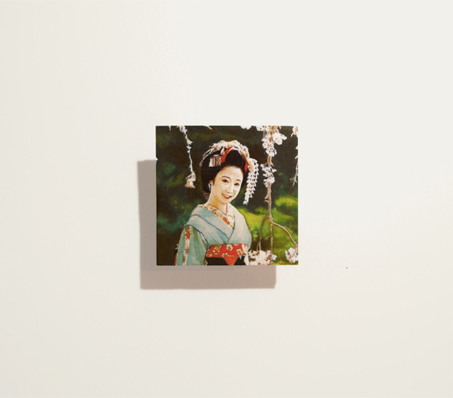 日本画の枠にとらわれない若手アーティスト、前畑裕司の個展が開催。