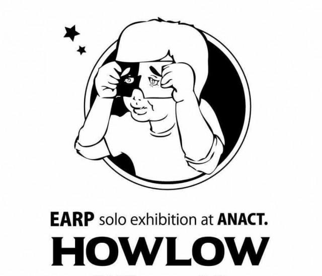 名古屋クラブシーンで暗躍する若手グラフィックアーティスト・EARPによる初個展が、栄のバー・ANACTにて開催。