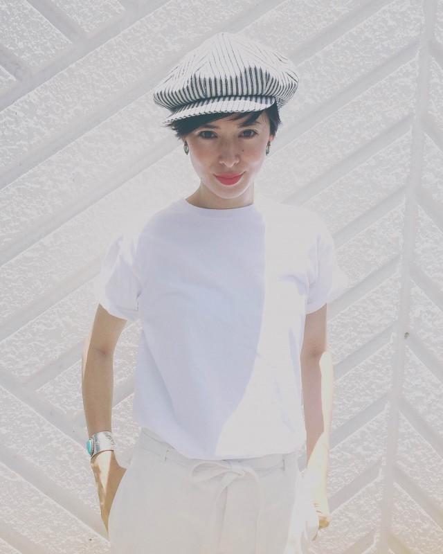 コラージュアーティストとしても活躍するモデル・花楓の作品展が開催。初日のオープニングパーティーには作家本人も来場!