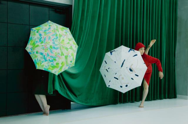 唯一無二のオリジナルデザイン雨傘ブランド、Coci la elle(コシラエル)の新作「三月の雨」巡回展が名古屋で開催中。
