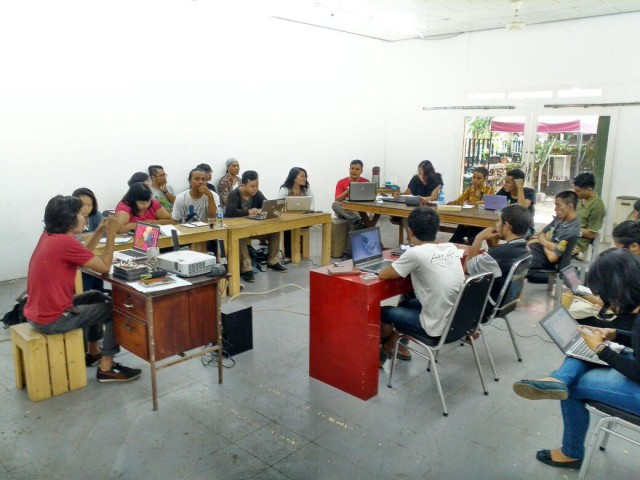 【あいちトリエンナーレ2016】インドネシアのアーティスト集団・ルアンルパによるプロジェクト「ルル学校」。ゲスト講師に、LIVERARY編集部、港まちづくり協議会が登壇。