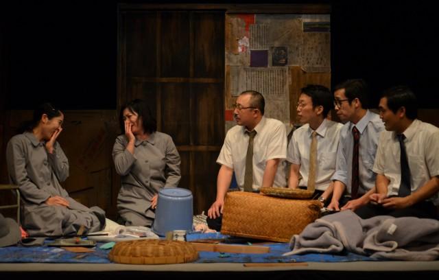 柄本明が座長を務める劇団東京乾電池が岸田戯曲賞受賞作「十一人の少年」を名古屋で上演。劇作家・北村想とのトークイベントも。