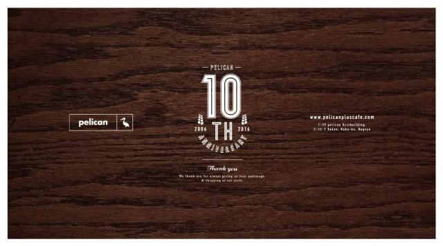 セレクトショップ・pelican名古屋店10周年記念イベントで、tioがインストアライブを開催!覚王山のBAR・やもりによる出店も。