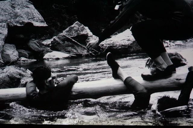 【SPECIAL REPORT:アッセンブリッジ・ナゴヤ2016】<br/>切り出した丸太とともに、川沿いを移動し、港まちに上陸!?<br/>前衛集団・ヒスロムが企てた、壮大なるフィールドプレイ。その③