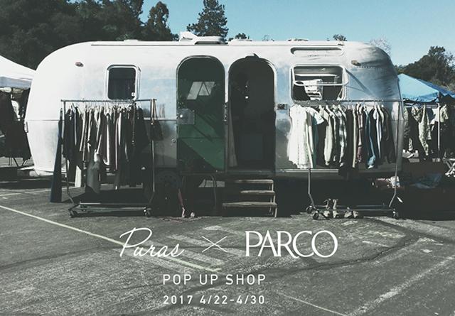 セレクトショップ「Puras」のPOP UP SHOPが名古屋パルコに期間限定で登場。