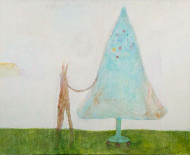 杉戸洋、村瀬恭子、佐々木愛など15名の作家による展覧会「生命の樹」と、30年以上にわたり樹を描き続けている画家、日高理恵子の展覧会が同時開催。