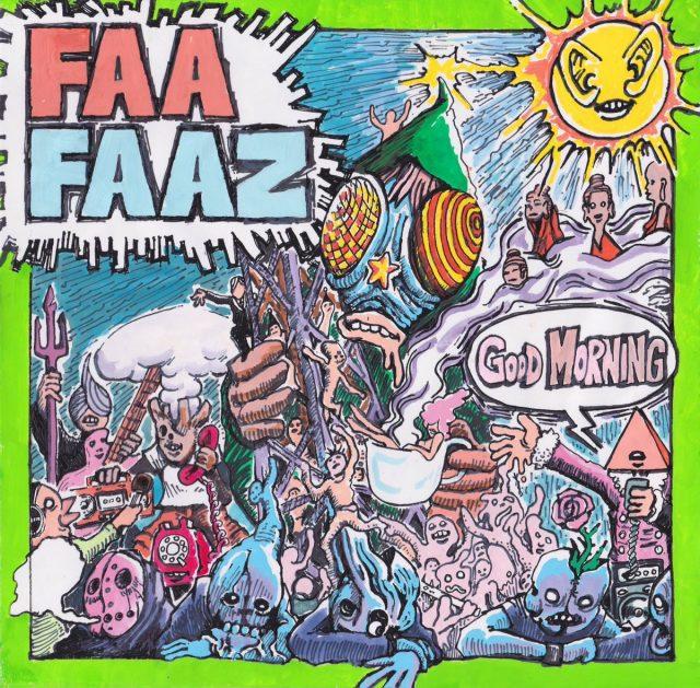 兵庫発ハイスピード・ハードコアバンド、FAAFAAZが結成10年目にして念願の1stアルバムをリリース!名古屋レコ発に△、DO NOT、Killerpassら。