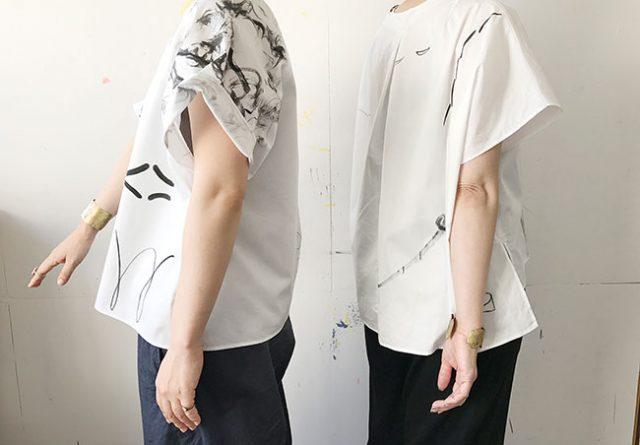 服飾作家・yatra、テキスタイルデザインを手掛けるgranite、金工作家・田中友紀の3者によるコラボレーション展示会が開催。
