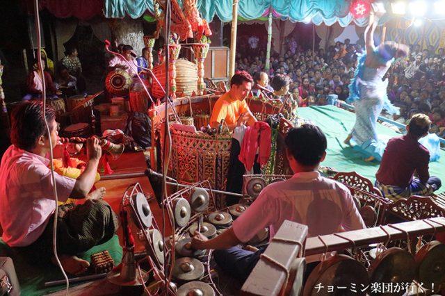 『チョーミン楽団が行く!』 : ミャンマーの伝統音楽の代表格「サイン(サインワイン)」 の楽団公演に密着したドキュメンタリーの上映会とトーク/音楽文化講座が開催!