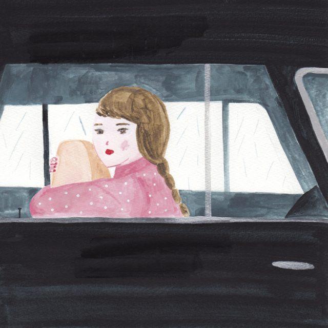 多分野で活躍中のイラストレーター、箕輪麻紀子による作品集『ESCAPE』の刊行を記念しての展覧会が開催。車のある風景を展示。
