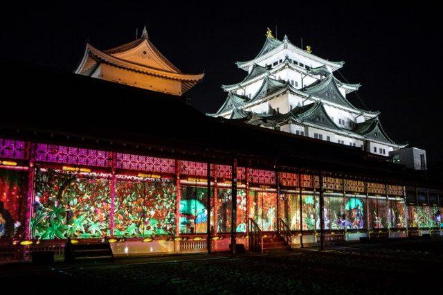 話題のクリエイティブ・カンパニー「NAKED」と「名古屋城」がコラボ!プロジェクションマッピングで夜の名古屋城が美しく彩られる「NIGHT CASTLE OWARI EDO FANTASIA」開催中。