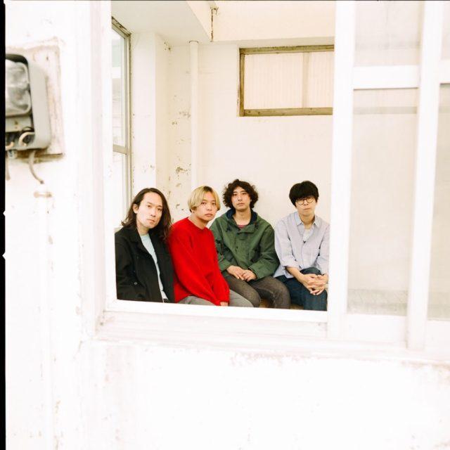4人組ロックバンド、シャムキャッツ。新作発売を記念した全国ツアー開催で、名古屋へ。