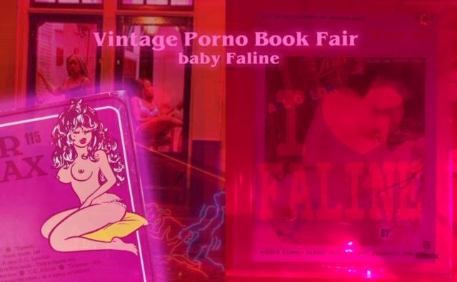 海外のヴィンテージポルノ雑誌が並ぶ「Vintage Porno Book Fair at Baby Faline」が、栄・Baby Falineにて開催中。