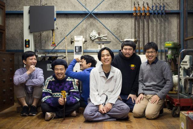 元SAKEROCK・田中馨率いるアバンギャルド・ポップバンド、Hei Tanaka。カクバリズムリリースの1stアルバム『ぼ〜ん』レコ発ツアー名古屋ワンマン開催。