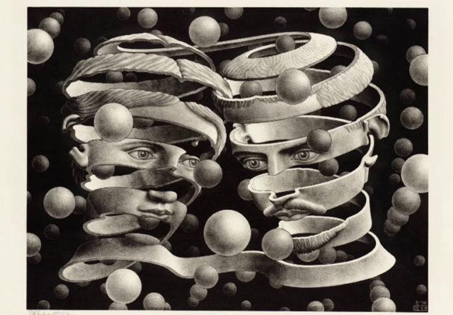 『エッシャー 視覚の魔術師』 : トリックアートで、今なお世界を魅了し続ける画家・エッシャーの知られざる波乱に満ちた人生を追ったドキュメンタリー。