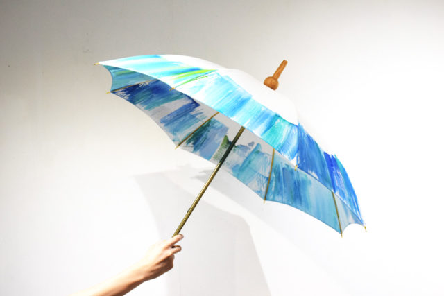 デザイナーのひがしちかによる1点物の手作り傘ブランド、Coci la elle(コシラエル)の展示会がON READINGにて開催!