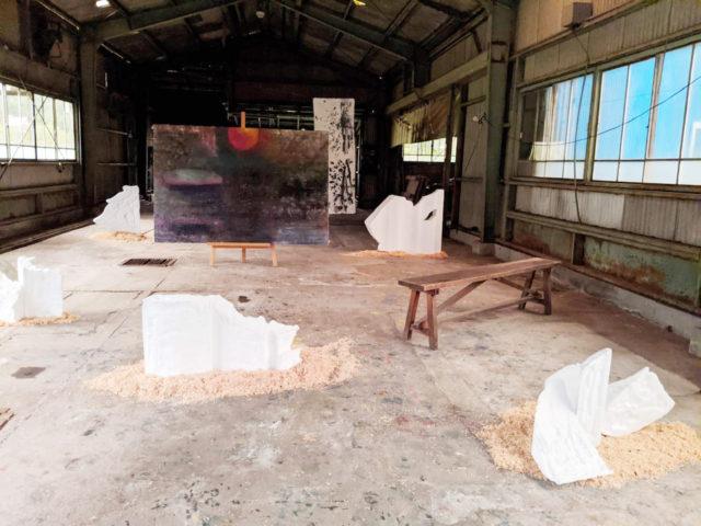 空き家や廃工場を利活用した現代アート展「HARAIZUMI ART DAYS ! 2020 〜不完全性〜」が静岡県・原泉にて開催中。
