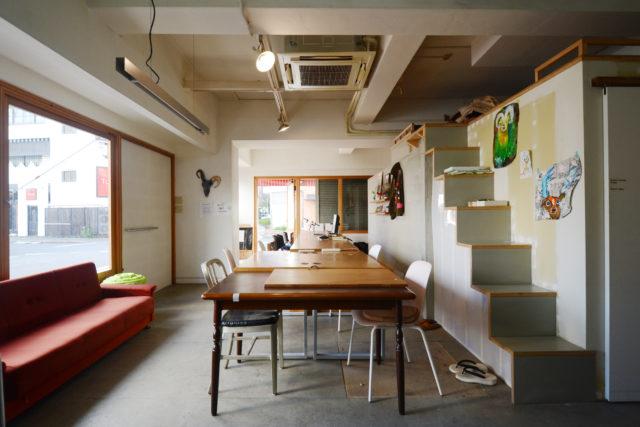 カフェバーやZINE SHOPが入居するビル、新栄グリーンハイツに新しい働き方、暮らし方を提案する3つのシェアスペースが誕生。
