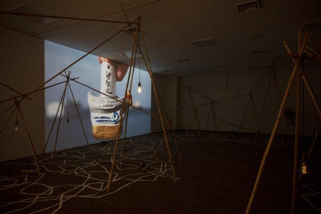 愛知県大府市にて、現代美術展「境界のかたち 現代美術 in 大府」が開催。うしお、折原智江、下道基行、鈴木一太郎、平川祐樹、松川朋奈が出展。