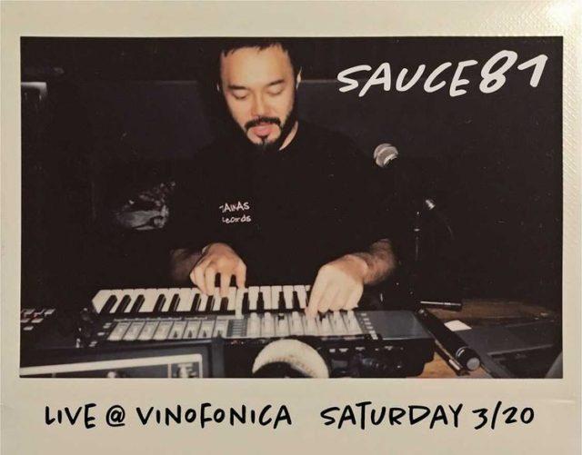 昨年のRainbow Disco Clubにも出演した、Sauce81が名古屋・Vinofonicaにてマシンライブを披露。サポートDJにShogo Ogawa、nutsmanらが参加。