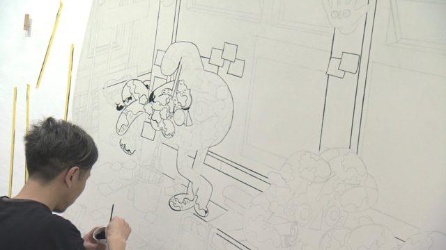 NHK中部制作のドキュメンタリー番組「ショートストーリーズ」に、名古屋在住のアーティスト・鷲尾友公が登場。葛藤を抱えながらも製作に挑み続ける姿に密着!