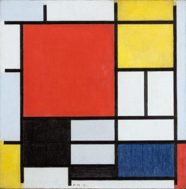抽象画の先駆者として知られる、ピート・モンドリアンの展覧会が豊田市美術館にて開催。日本では23年ぶりの回顧展。